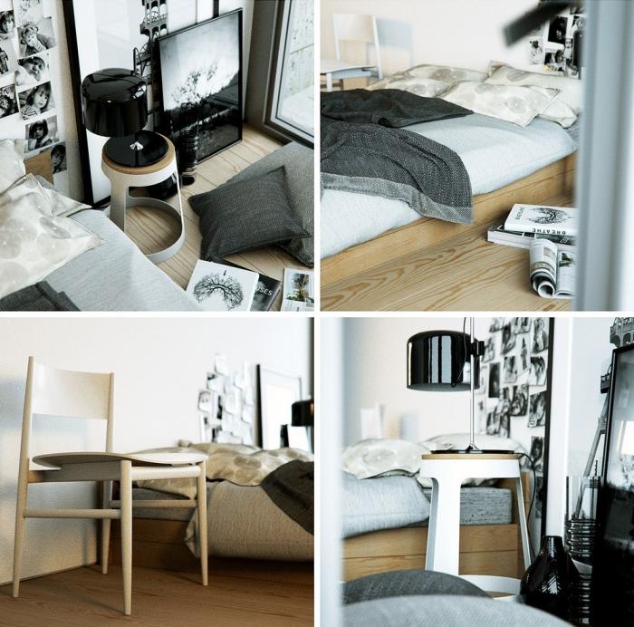 Neutral-morden-bedroom-design-idea