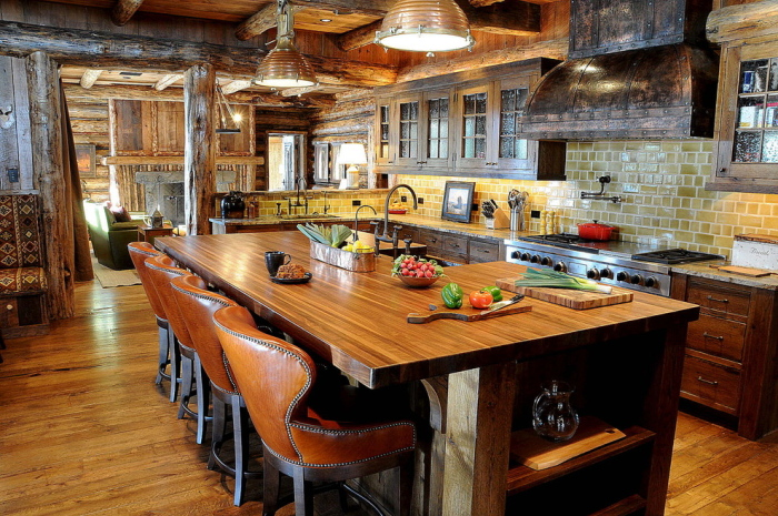 A-rustic-kitchen-idea