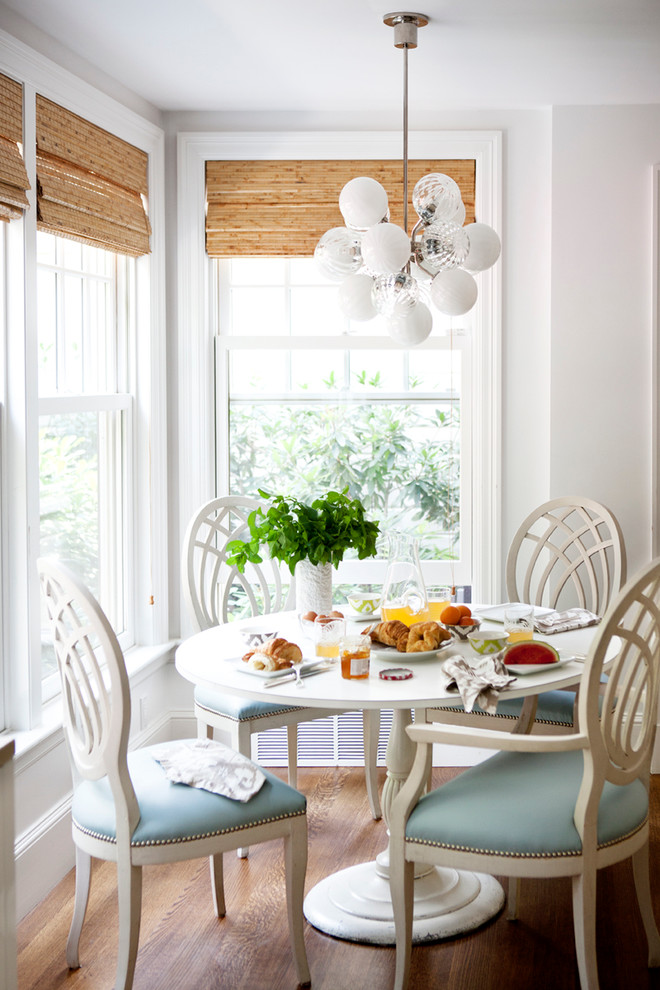 10 transitional dining room sets for Light blue dining room ideas
