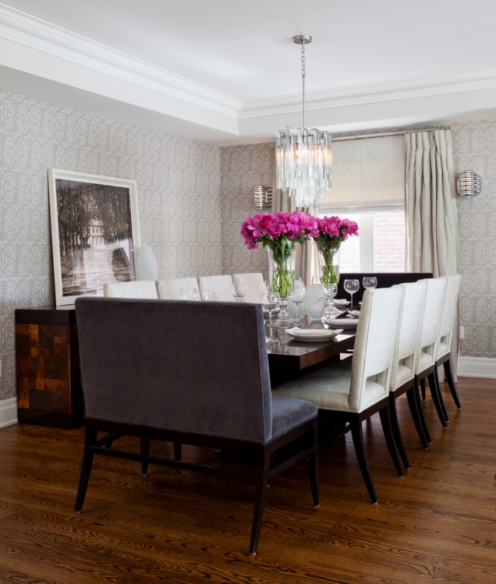 Ideas For Grey Dining Room
