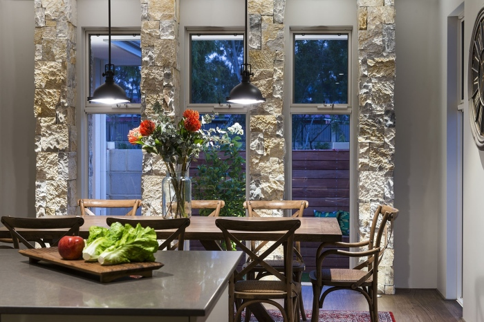 Modern-dining-Avalon-classic-homestead-inspired-design-with-ragged-polished-wooden-dining-chairs-and-table