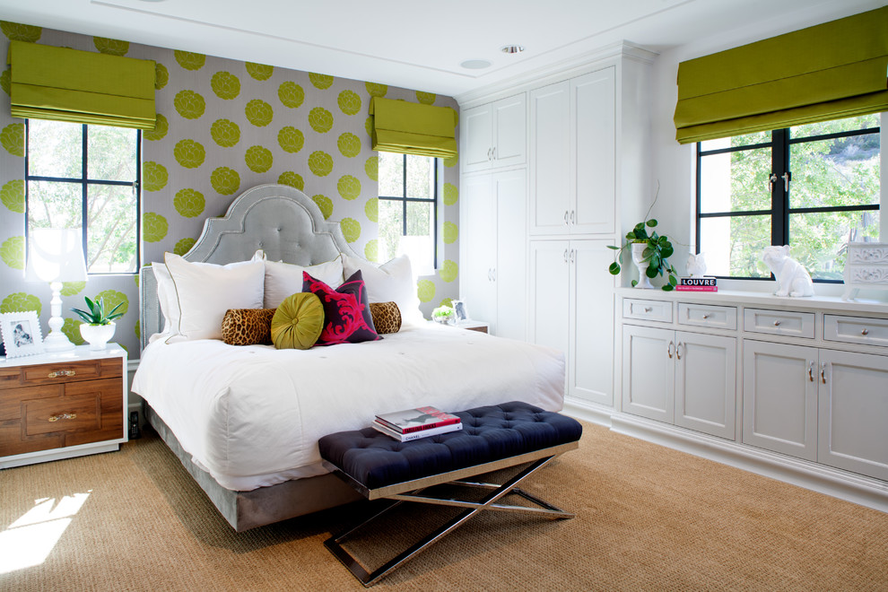 10 lime green bedroom furniture ideas Green and black bedroom