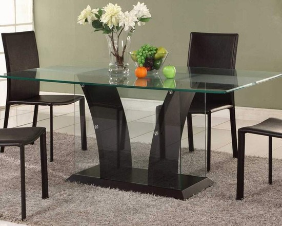 contemporary-dining-room-with-an-elegant-dining-glass-table-idea