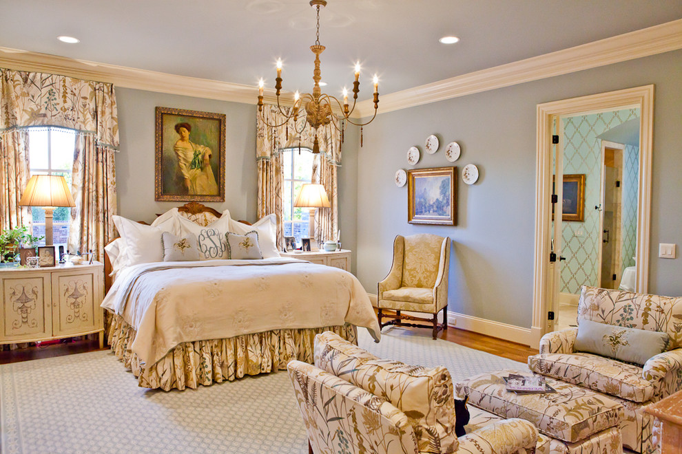 English victorian bedroom : Vintage inspired bedroom ideas