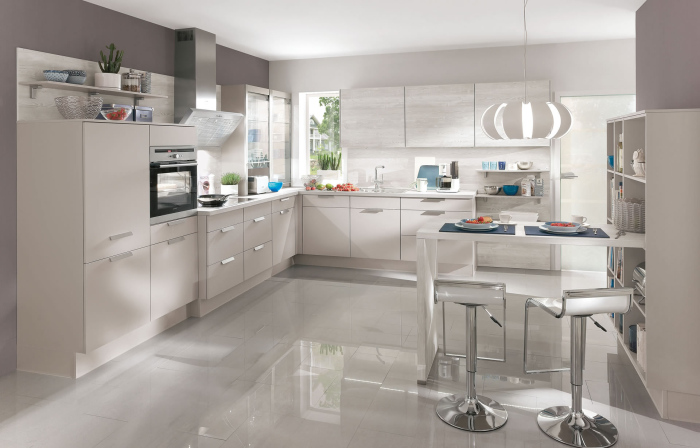 Dark-grey-white-and-silver-contemporary-home-town-kitchen-design-idea