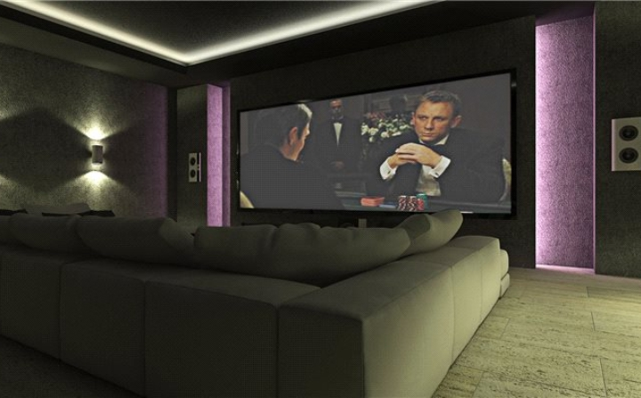 indoor cinema room