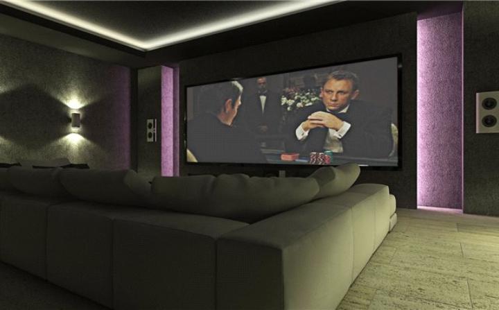 indoor cinema room