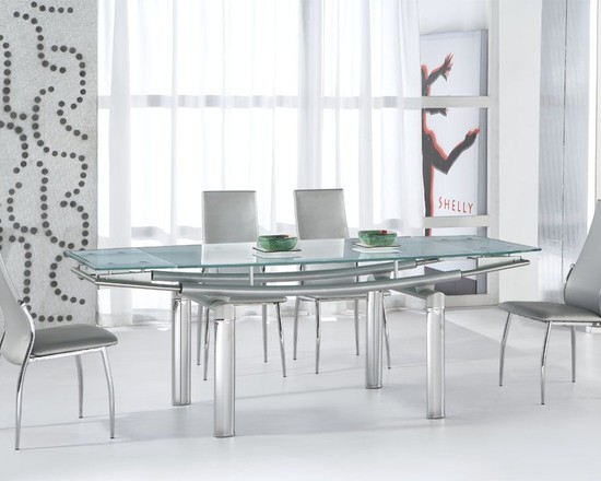 white-and-grey-dining-room-with-a-modern-dining-glass-table