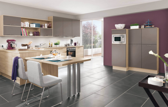 Dark-grey-and-mauve-modern-home-town-kitchen-design-idea