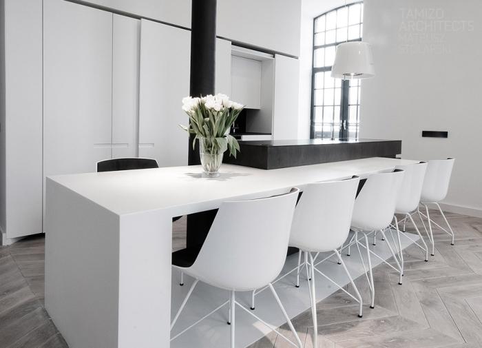 white-black-dining-room-design-idea