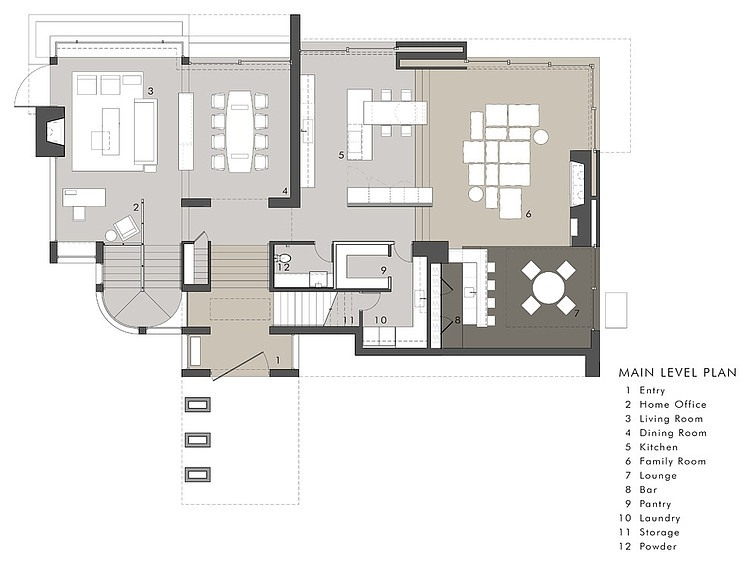 rockledge  residence floor plan