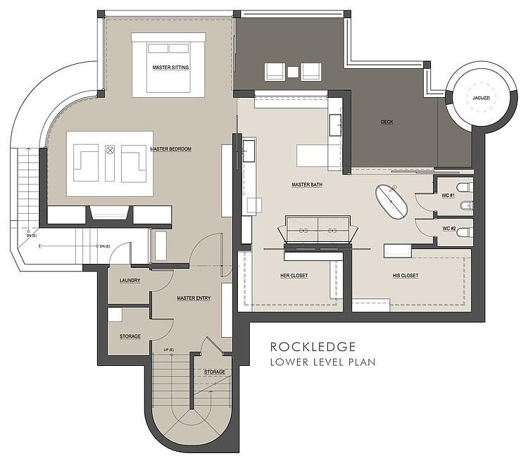rockledge residence house plan idea