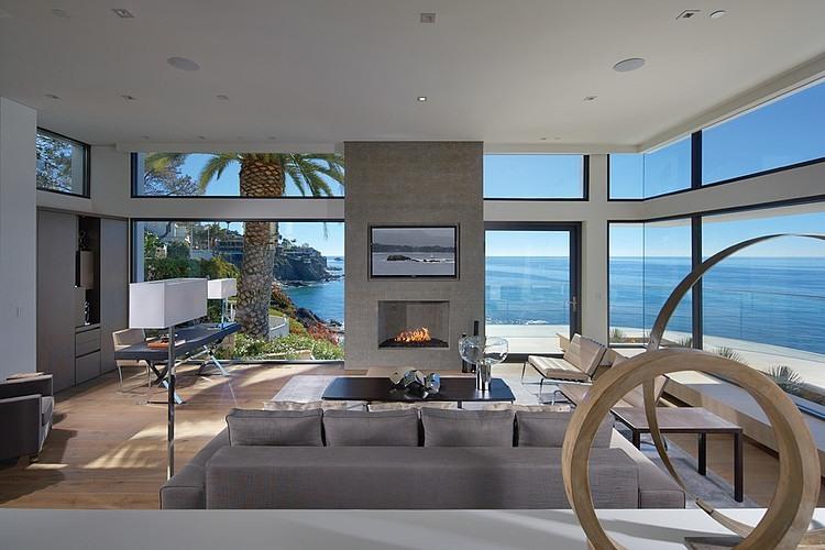 Rockledge residence living room