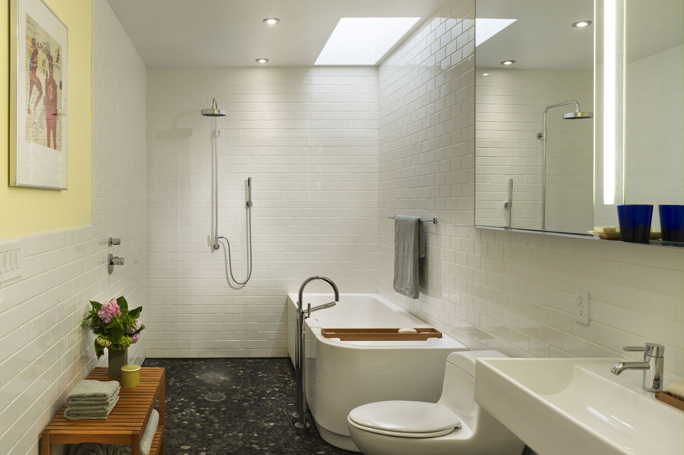 10 wet room designs for small bathrooms for Small bathroom designs no toilet