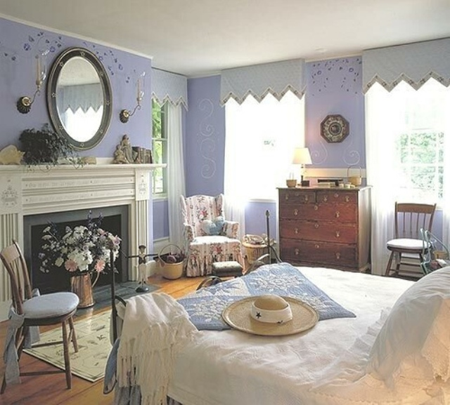 10 country cottage bedroom decorating ideas for English cottage bedroom