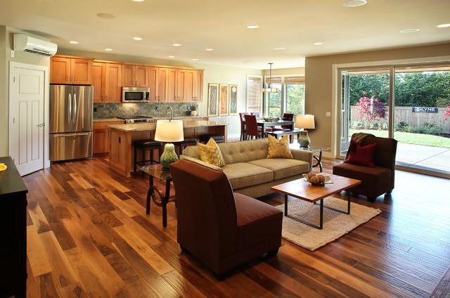 hickory wooden floor