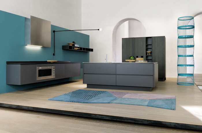 white-grey-and-blue-contemporary-kitchen-with-a-modern-Italian-kitchen-working-table-idea