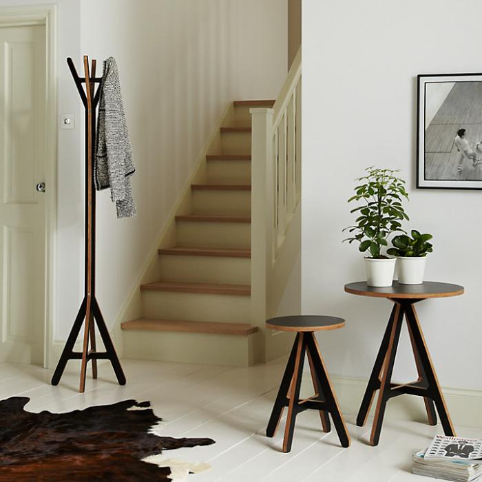 John Lewis wooden coat stand
