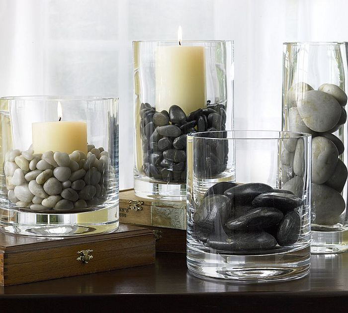 Zen decoration for your living room table for Idee deco vase