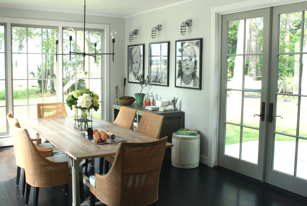 Formal Dining with French Doors
