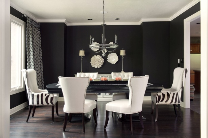 Neutral dining room furniture idea