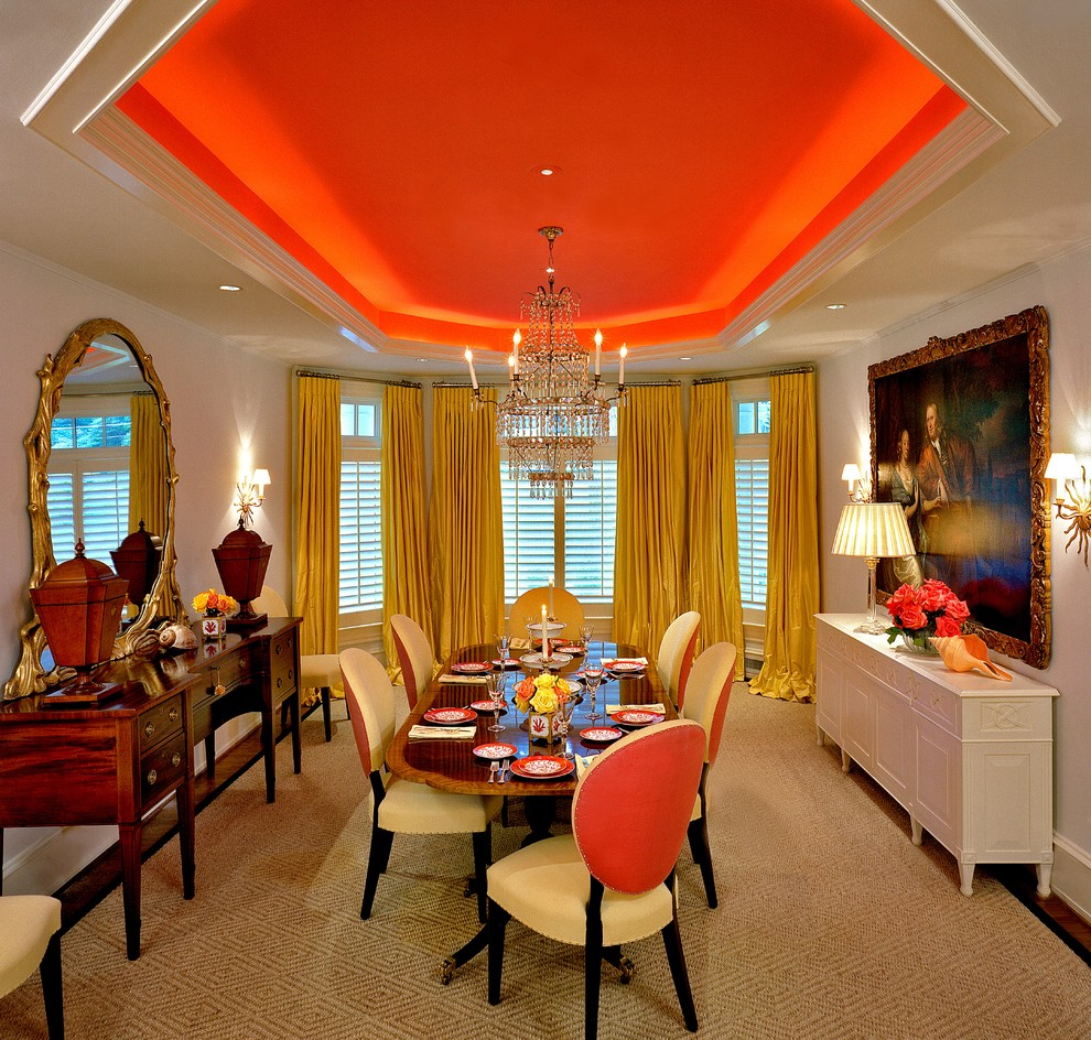 Dining Room Orange