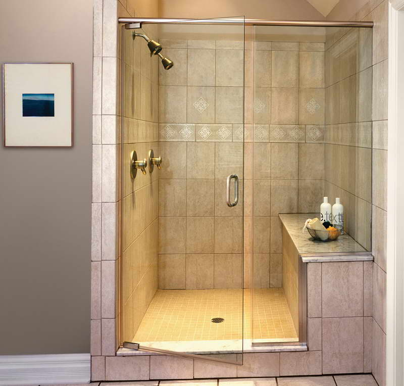 Cool small shower room design ideas for Tiled bathroom designs pictures