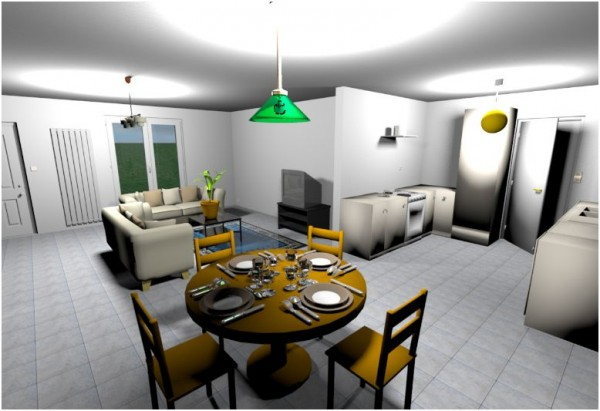The Sweet Home 3D allows us to customize our choices in planning for our spaces
