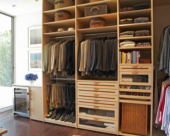 customize the closet