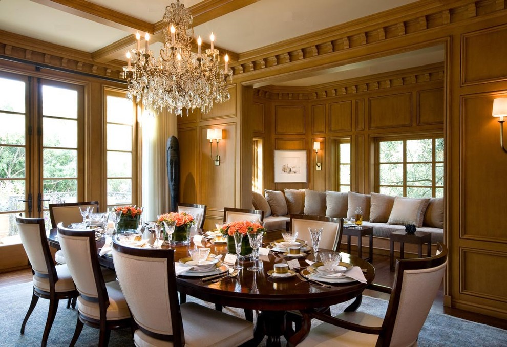 10 ideas for formal dining rooms for Big dining room ideas