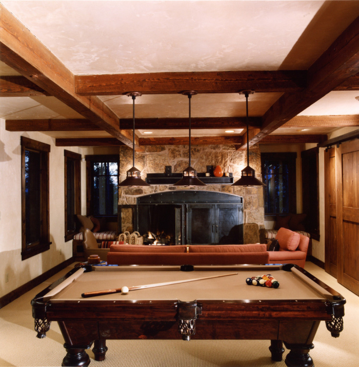 Wooden pool table idea