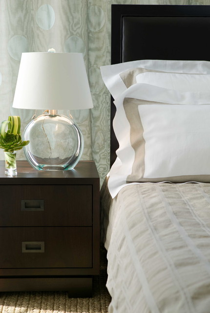 Set beside your bed, it will keep your eyes relaxed