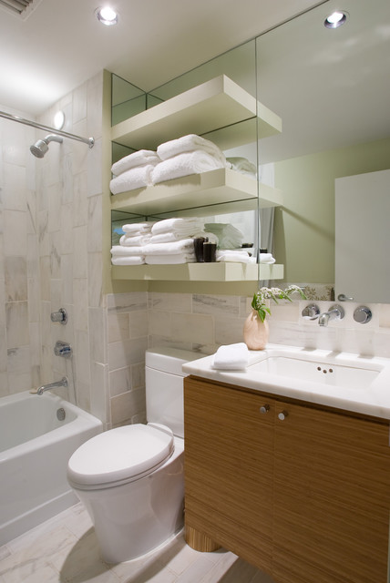 Collection of bathrooms small spaces for Bathroom design birmingham