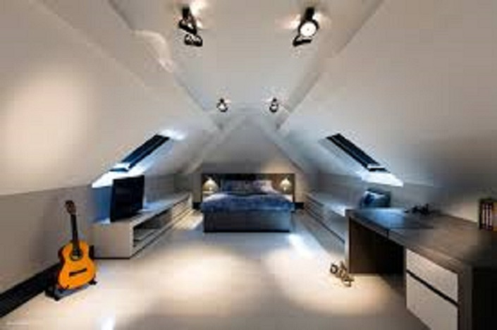 Music  Attic Bedroom