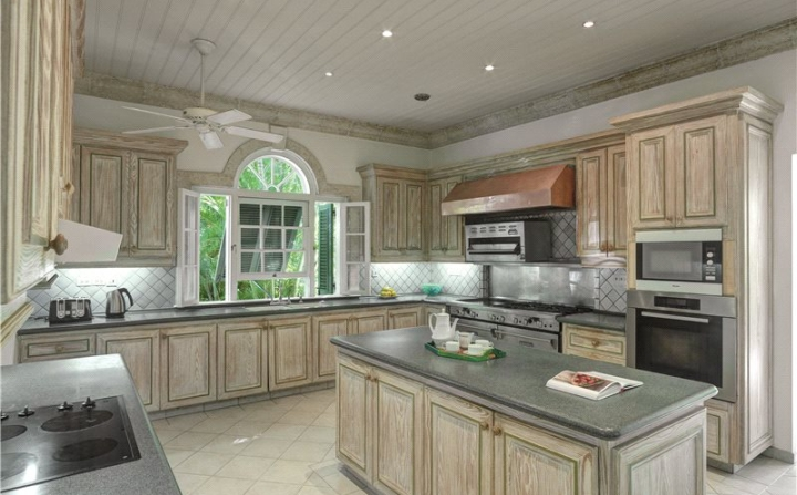 rusted cabinets