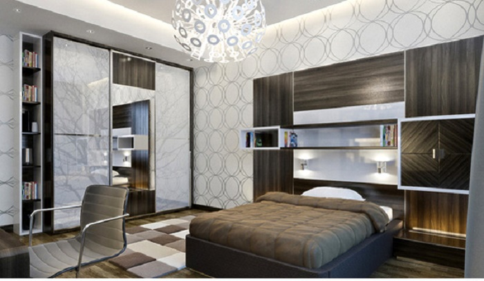 bedroom design, most teenage boys are in to music