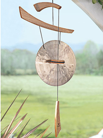 Wind gong decorating idea