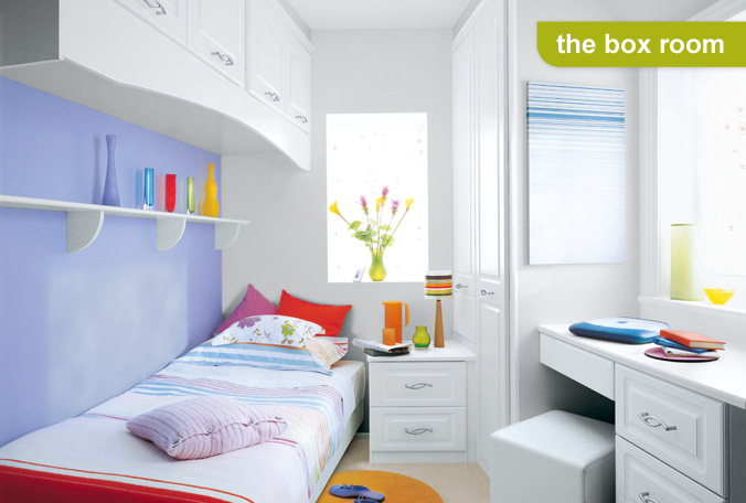 Wall cabinets and shelves are  great furniture pieces for small bedroom space