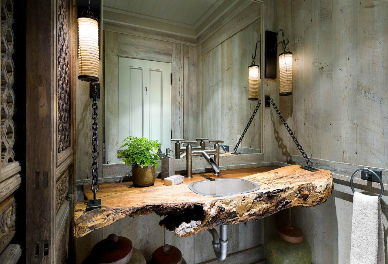 Bathroom with comfortable and peaceful feeling