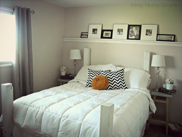 How to make your small master bedroom look spacious Master bedroom art above bed