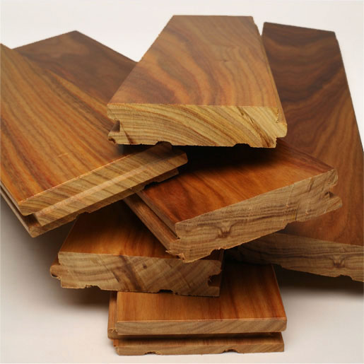 Real wood is also thicker than the engineered and the laminated wood
