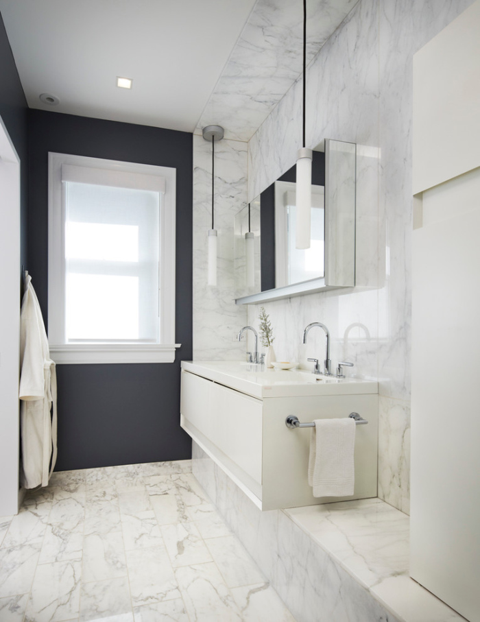 Hyde Park modern Victorian style bathroom design