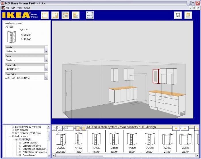 Ikea kitchen planner design