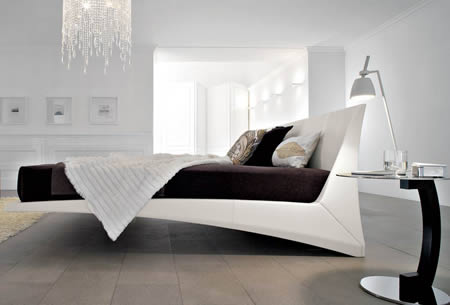 Modern hanging bed desgn