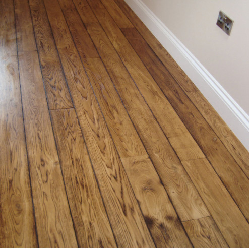 Real wood flooring materials are hard to install and are more expensive