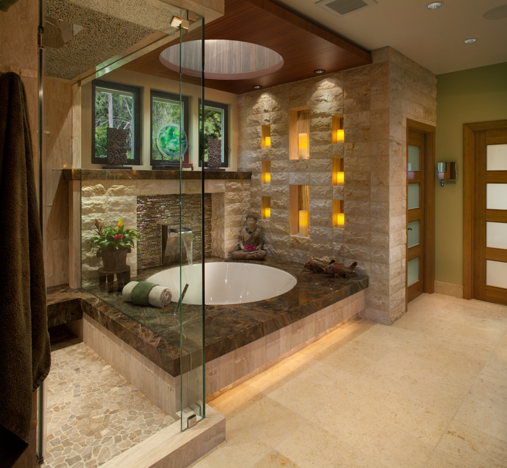 zen calming bathroom