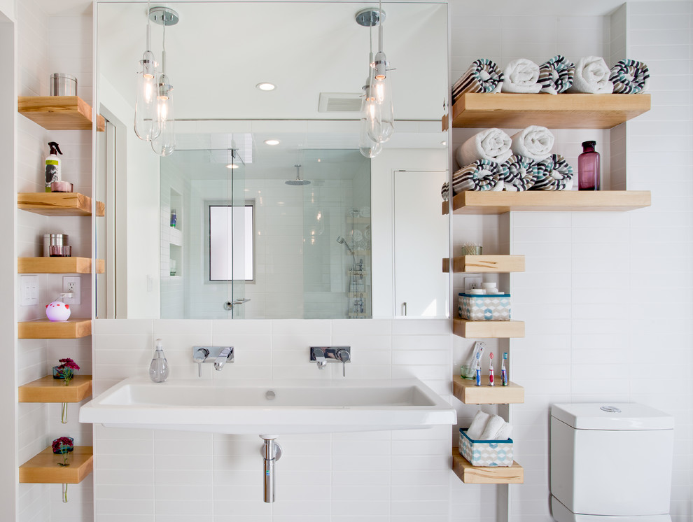 bathroom shelving for small space