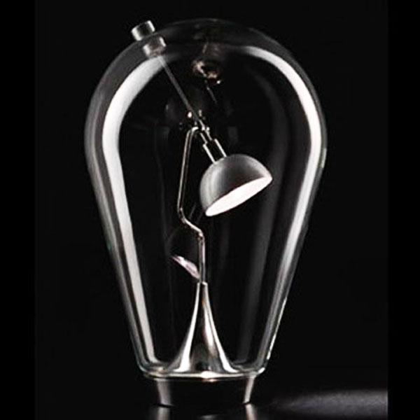 lamp inside a bulb light style