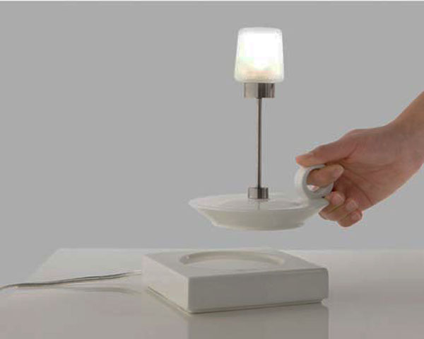 candle inspired lamp