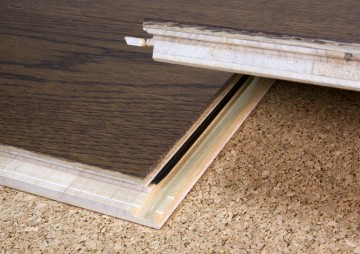 Cosloc floating engineered flooring material